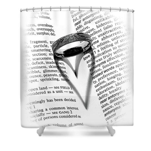 Love Handles Shower Curtain