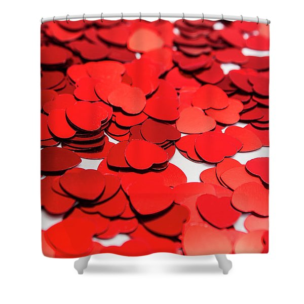 Love In Perspective Shower Curtain