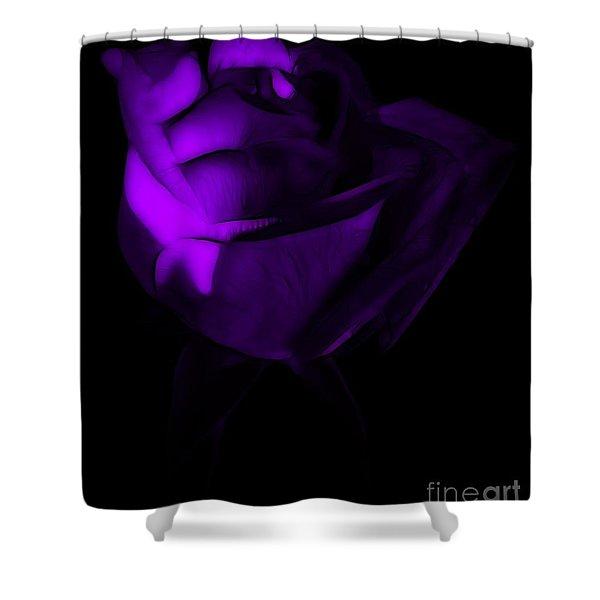 Love In The Dark Shower Curtain