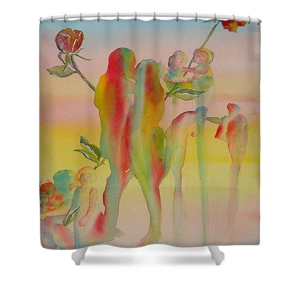Love Is Eternal Shower Curtain