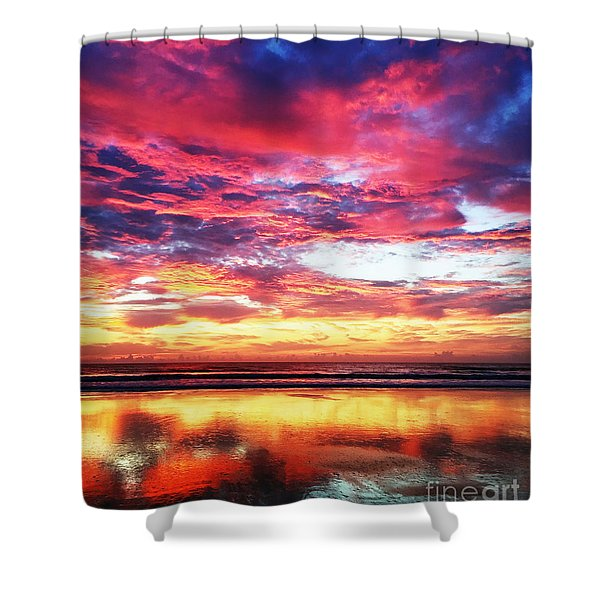 Love Is Real Shower Curtain
