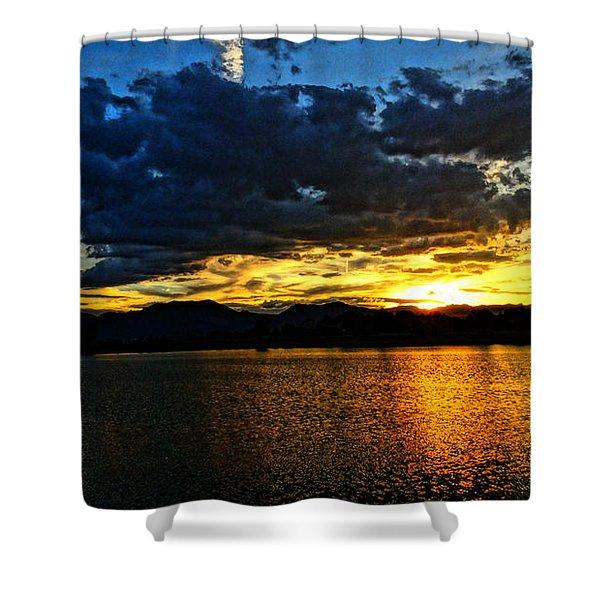 Love Lake Shower Curtain