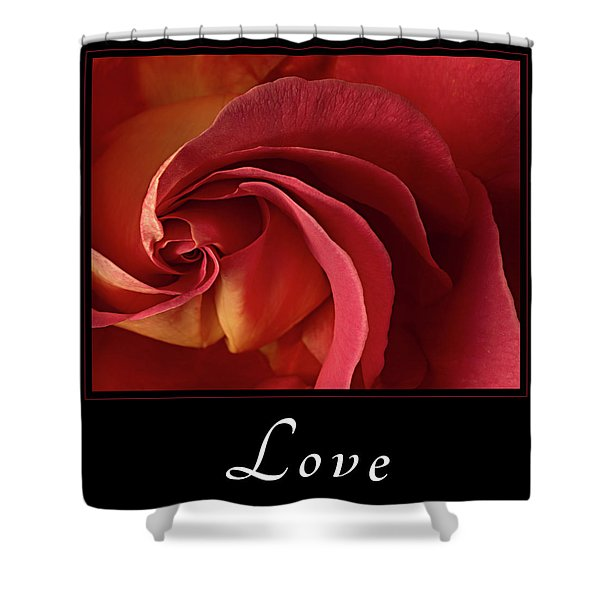 Shower Curtain featuring the photograph Love by Mary Jo Allen