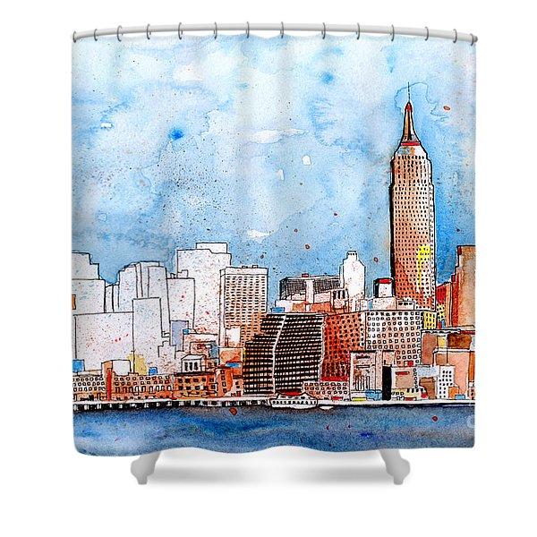 Love Nyc Shower Curtain