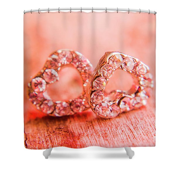 Love Of Crystals Shower Curtain