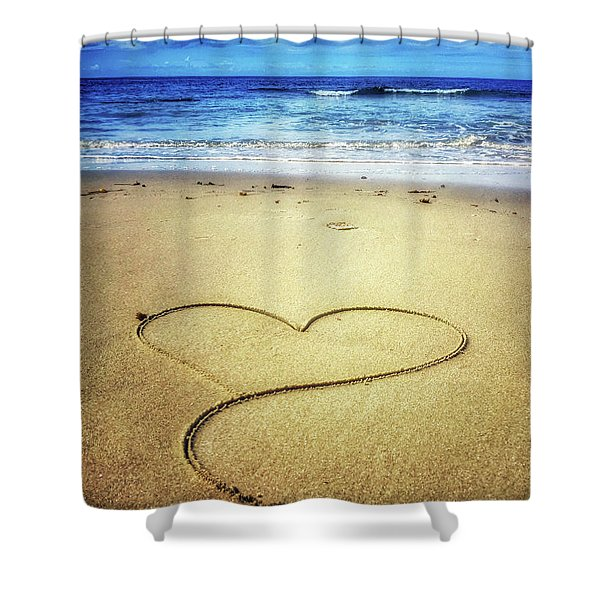 Love Of The Ocean Shower Curtain