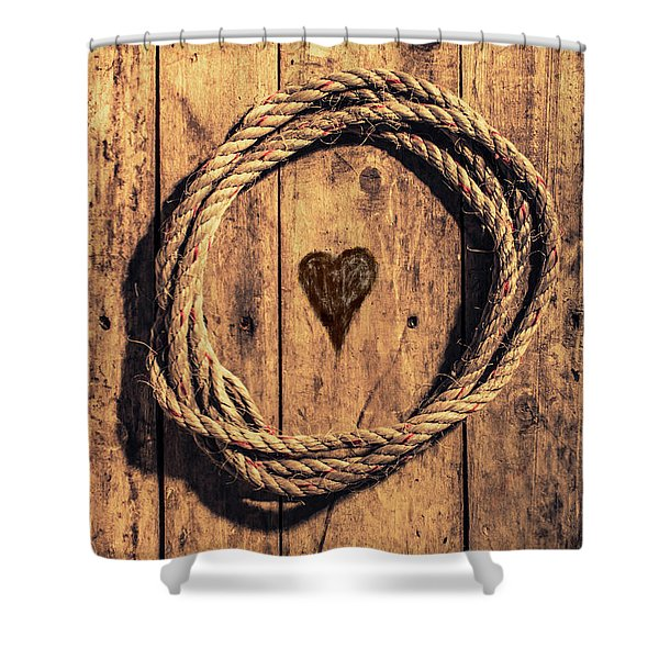 Love Of The Sea  Shower Curtain