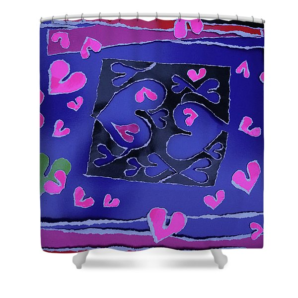 Love Soul Love Skeloton And The Subject Of Life Shower Curtain