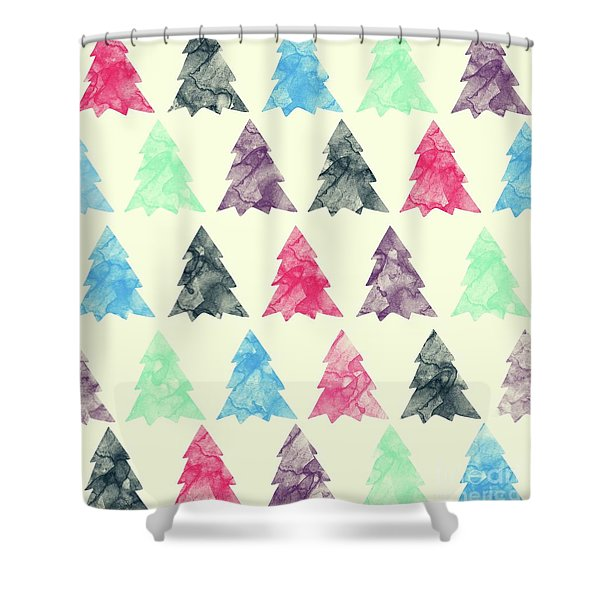 Lovely Pattern II Shower Curtain