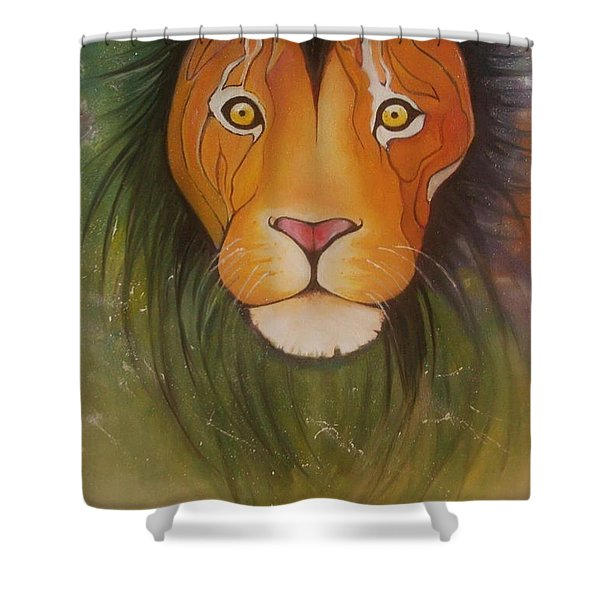 Lovelylion Shower Curtain