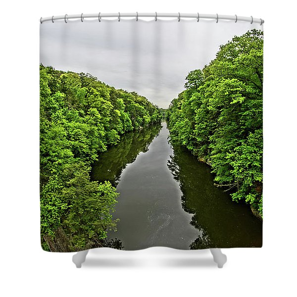 Lover's Leap Shower Curtain