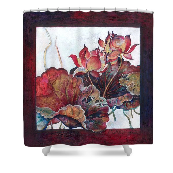 Lovers Without Memory Shower Curtain