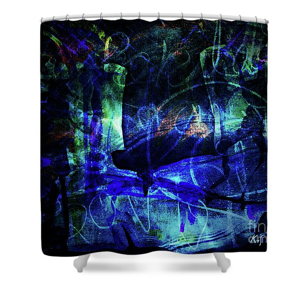 Lovers-1 Shower Curtain
