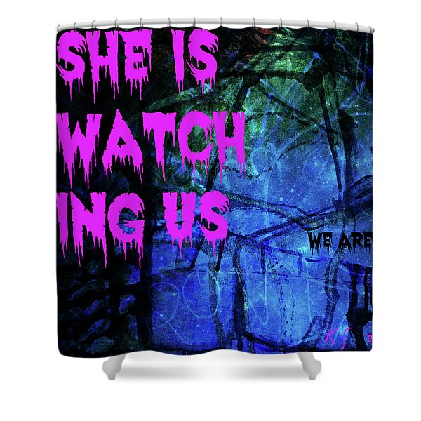 Lovers-2 Shower Curtain