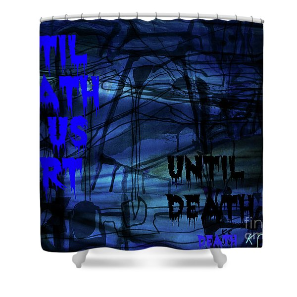 Lovers-3 Shower Curtain