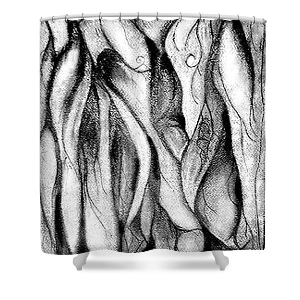 Loves Pedestal Shower Curtain