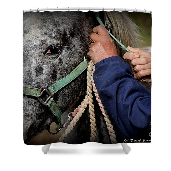 Loving Hands Shower Curtain