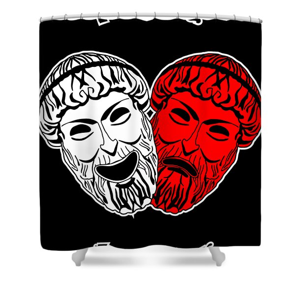 Loving Theater Shower Curtain
