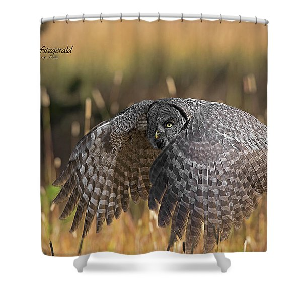 Low And Dangerous Shower Curtain