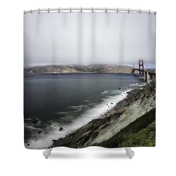 Low Cloud Shower Curtain
