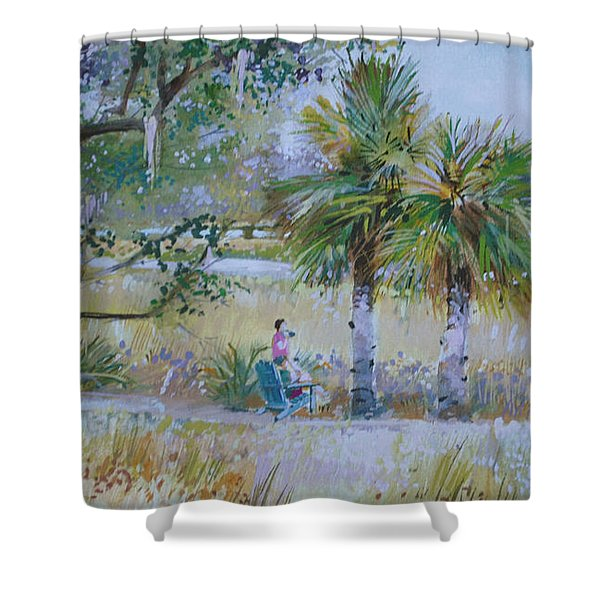Low Country Shower Curtain