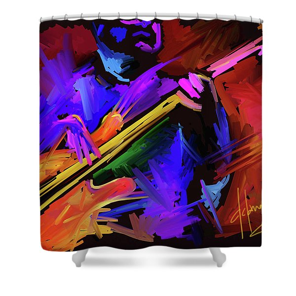 Low Rider Shower Curtain
