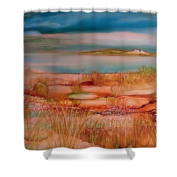 Low Tide Shower Curtain