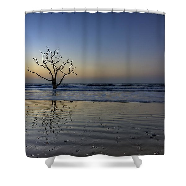 Low Tide Calm - Botany Bay Shower Curtain