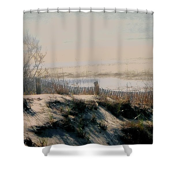 Shower Curtain featuring the photograph Low Tide by Gerlinde Keating - Galleria GK Keating Associates Inc