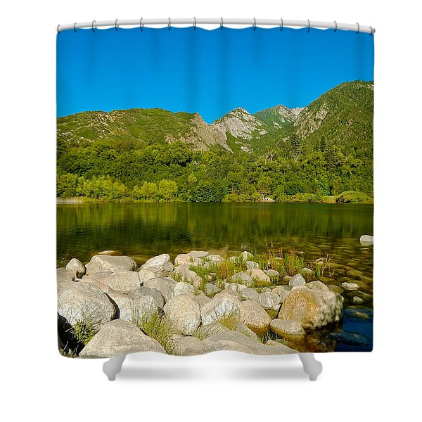 Lower Bells Canyon Reservoir Shower Curtain