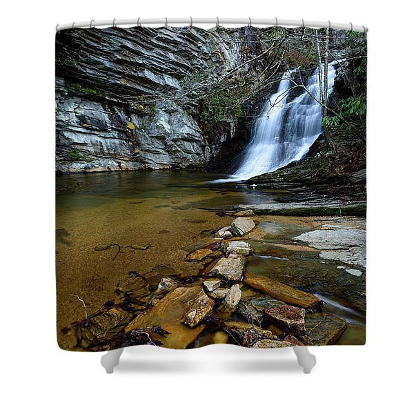 Lower Cascades Shower Curtain