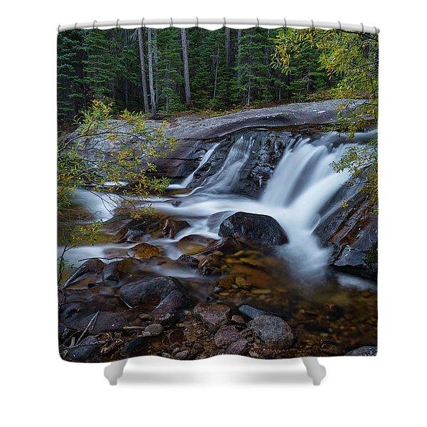 Lower Copeland Falls Shower Curtain
