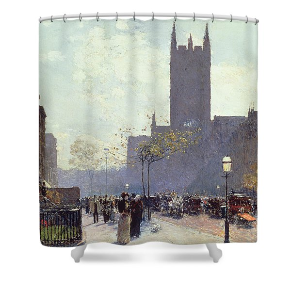 Lower Fifth Avenue Shower Curtain