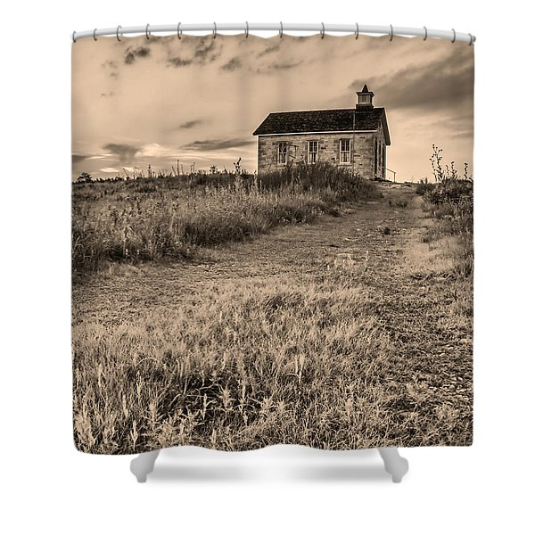Lower Fox Creek School Shower Curtain