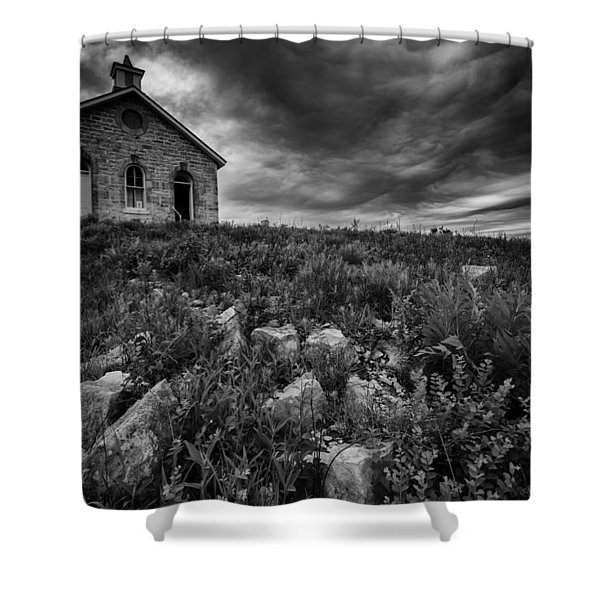 Lower Fox Creek Schoolhouse Shower Curtain