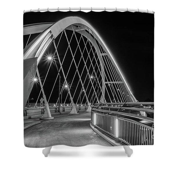 Lowry Avenue Bridge Shower Curtain