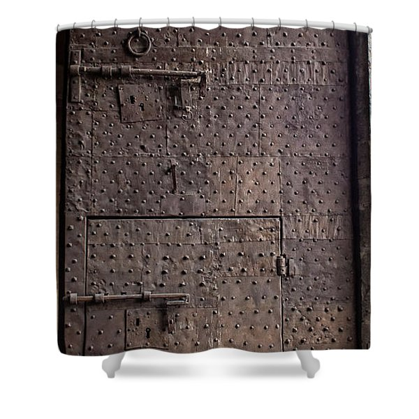 Lucca Portal Shower Curtain