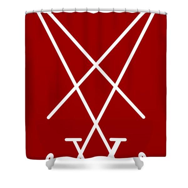 Lucy Sigil Shower Curtain