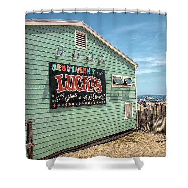 Luckys At Jenkinsons South Shower Curtain