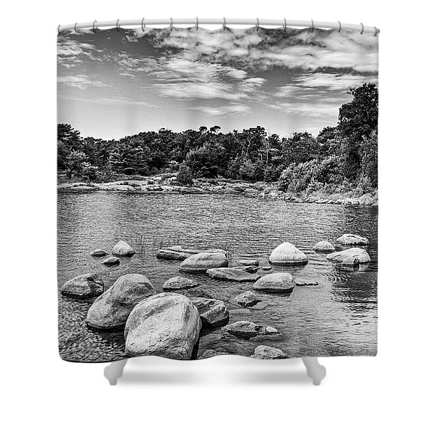 Luc's Cove   Shower Curtain