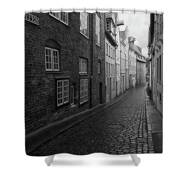 Luebeck Rainy Summer Shower Curtain