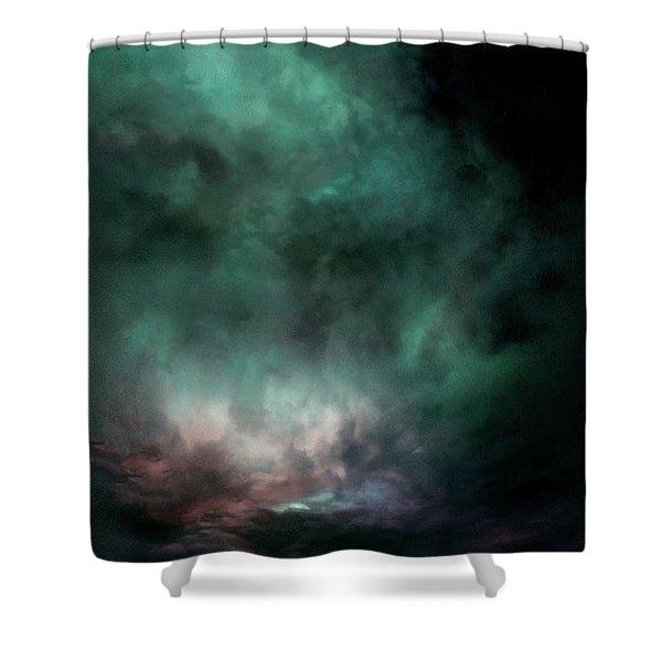 Lumen Sky Shower Curtain