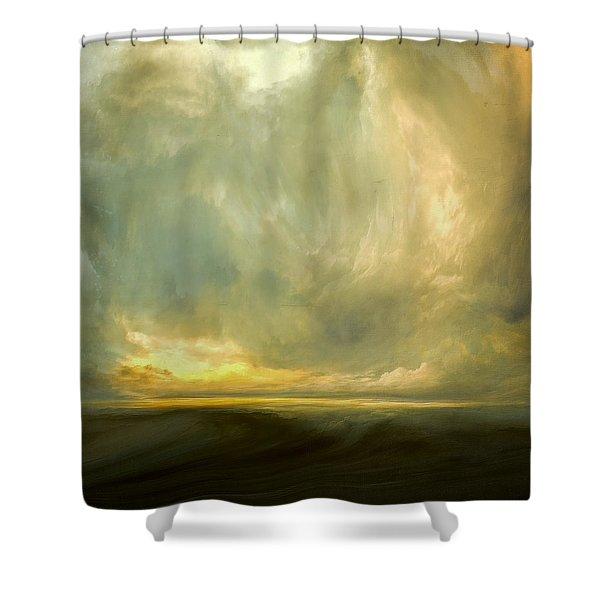 Luminous Air Shower Curtain