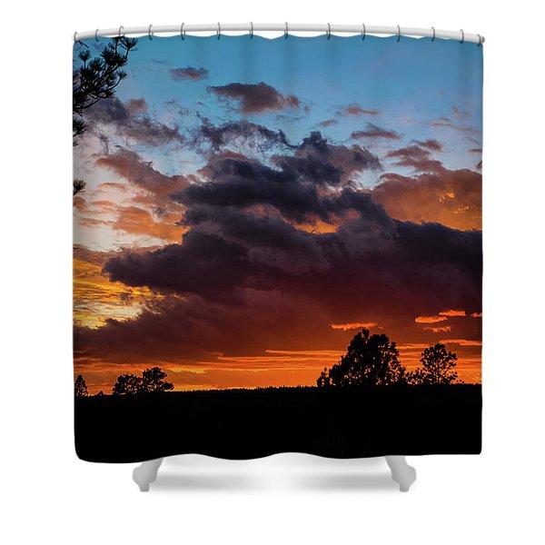Shower Curtain featuring the photograph Luminous Dessert by Jason Coward