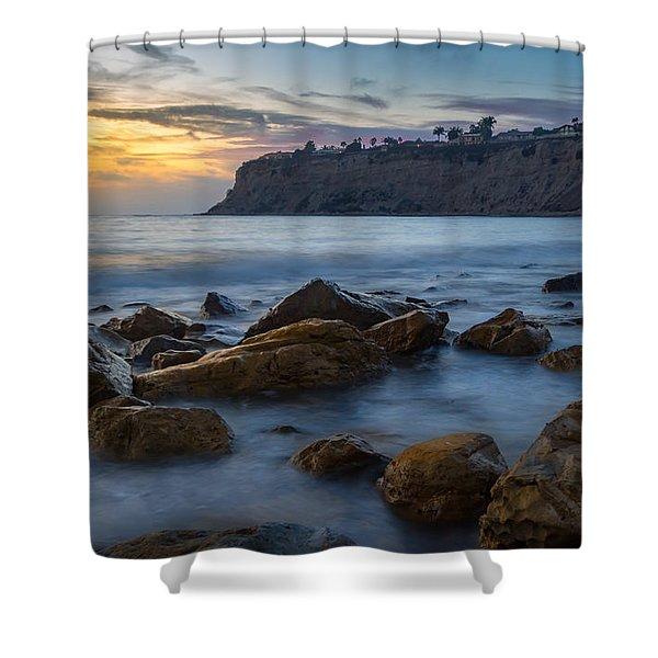 Lunada Bay Shower Curtain