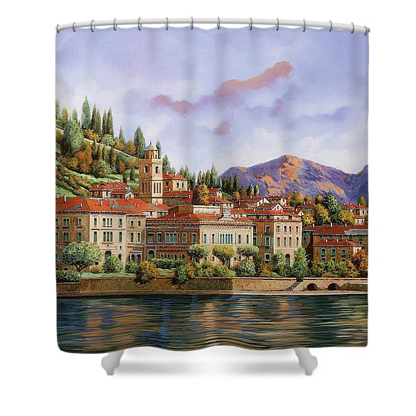 lungolago di Bellagio Shower Curtain