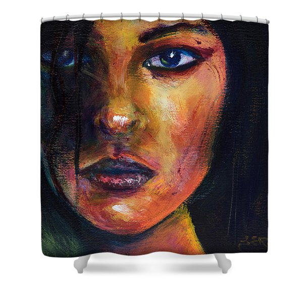 Lupina Shower Curtain