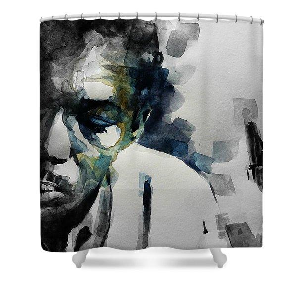 Lush Life  John Coltrane  Shower Curtain