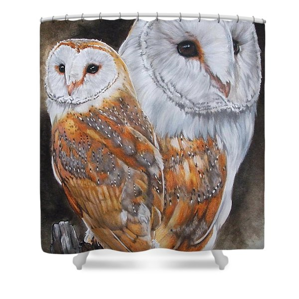 Luster Shower Curtain