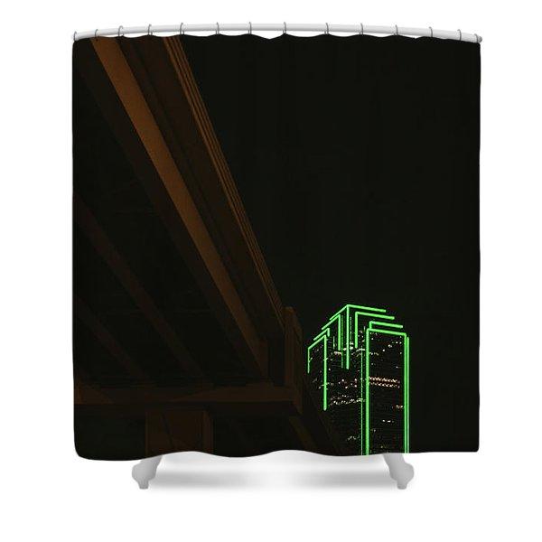 Lux Noir Shower Curtain
